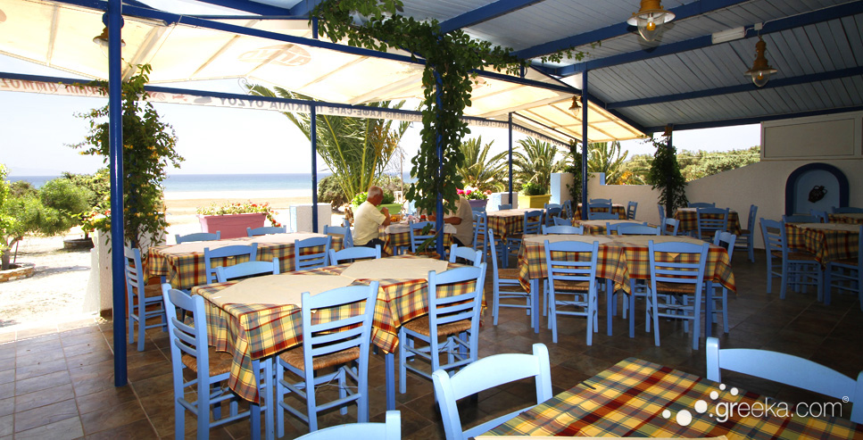 Psili ammos studios and rooms in naxos greece pyrgaki for Ammos authentic greek cuisine